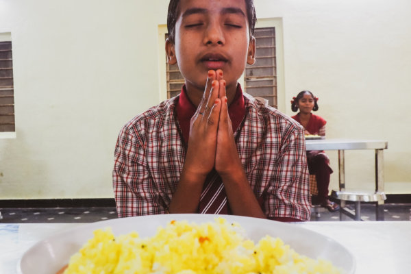 Prayers at Breakfast