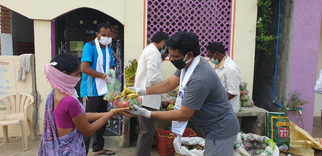 Distributing Vegetables