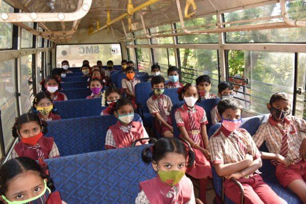 Children Return to School
